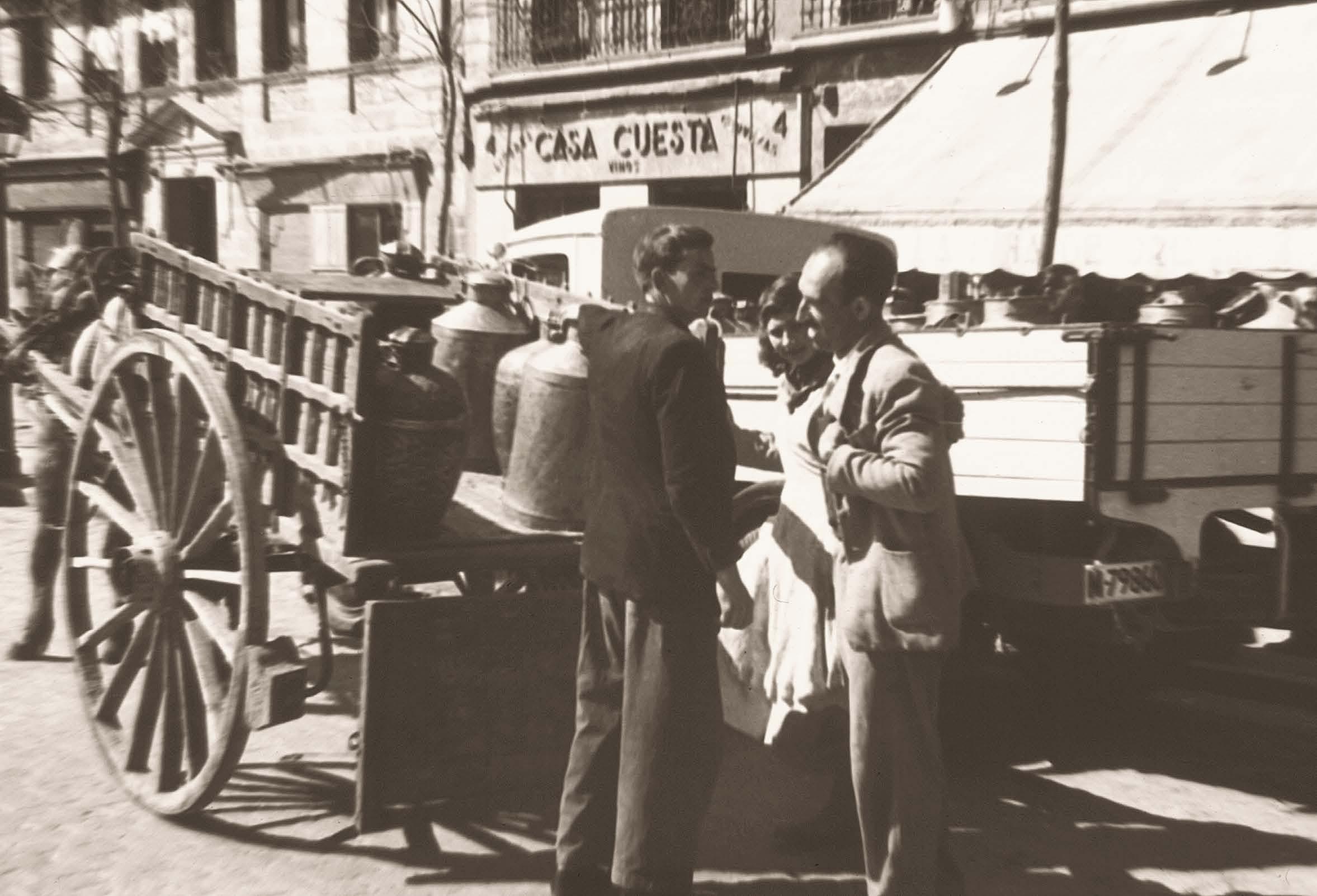 La foto de la semana: Hombres descargando (1951)