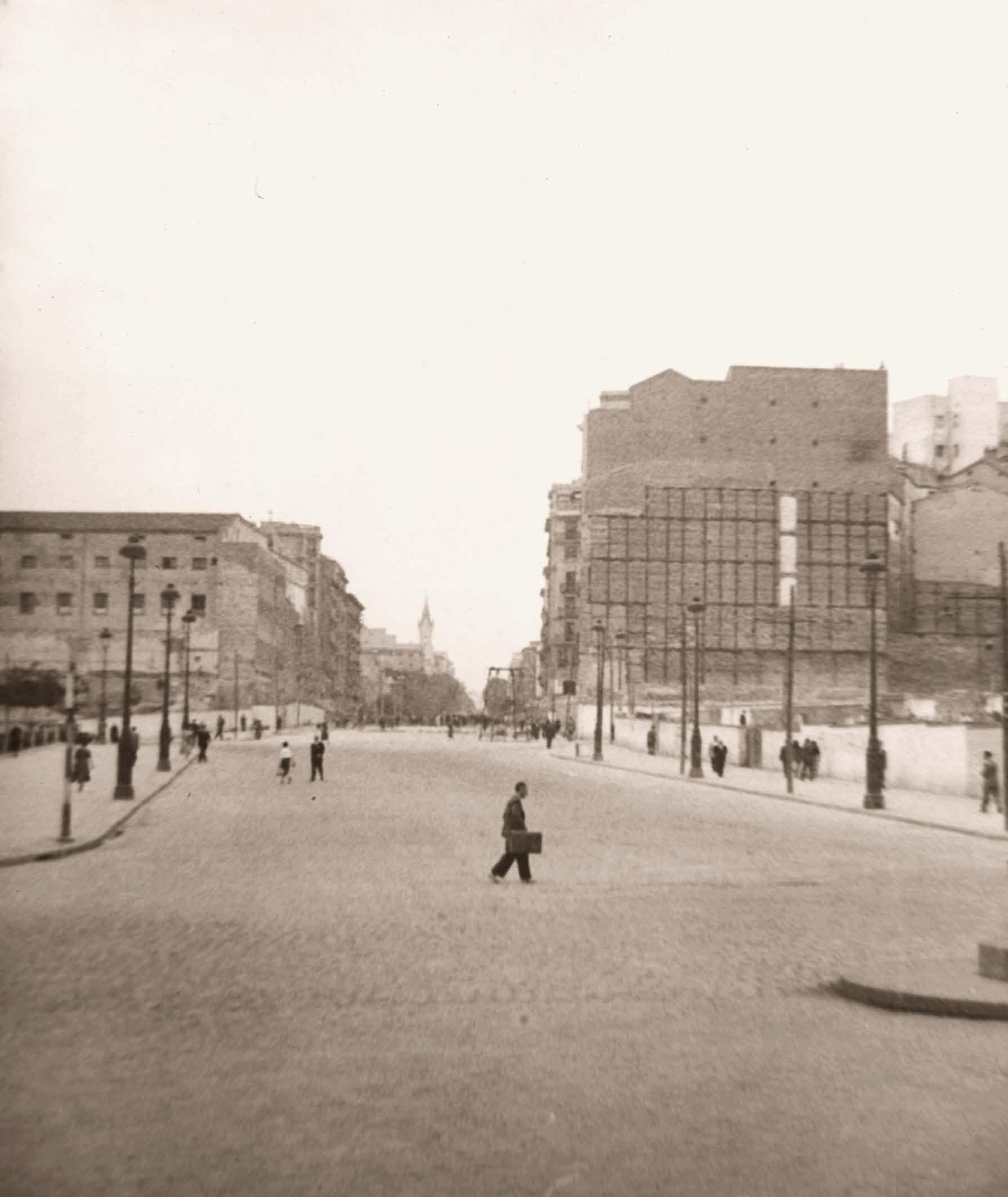 Calle Princesa 1948