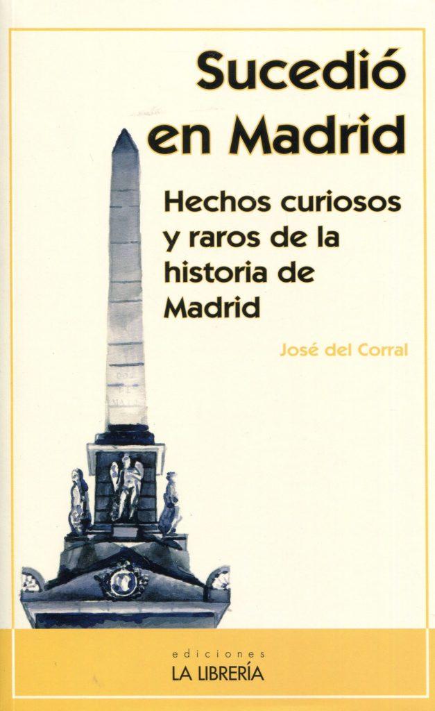 Sucedió en Madrid, libro