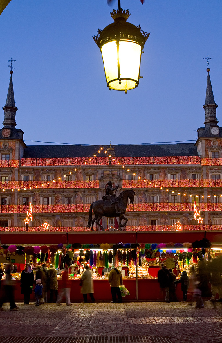 Foto de la semana: Navidad en la Plaza Mayor