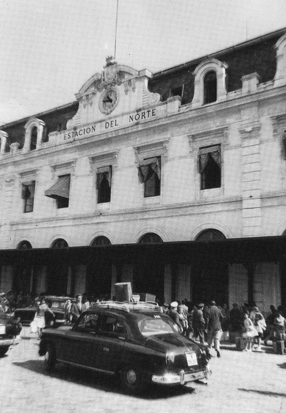 La foto de la semana: Estación del Norte, 1963