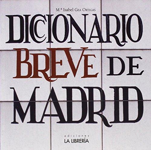 Recomendamos…Diccionario breve de Madrid