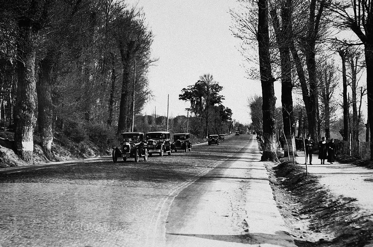 Carretera de La Coruña, años 30