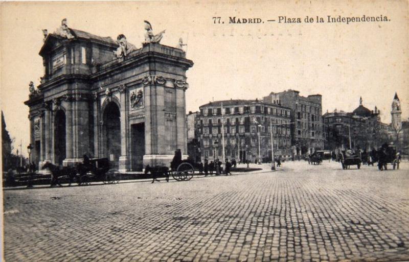 Plaza de la Independencia, Madrid
