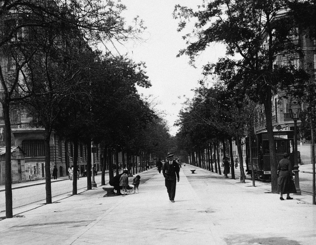 Sagasta, Madrid, años 30
