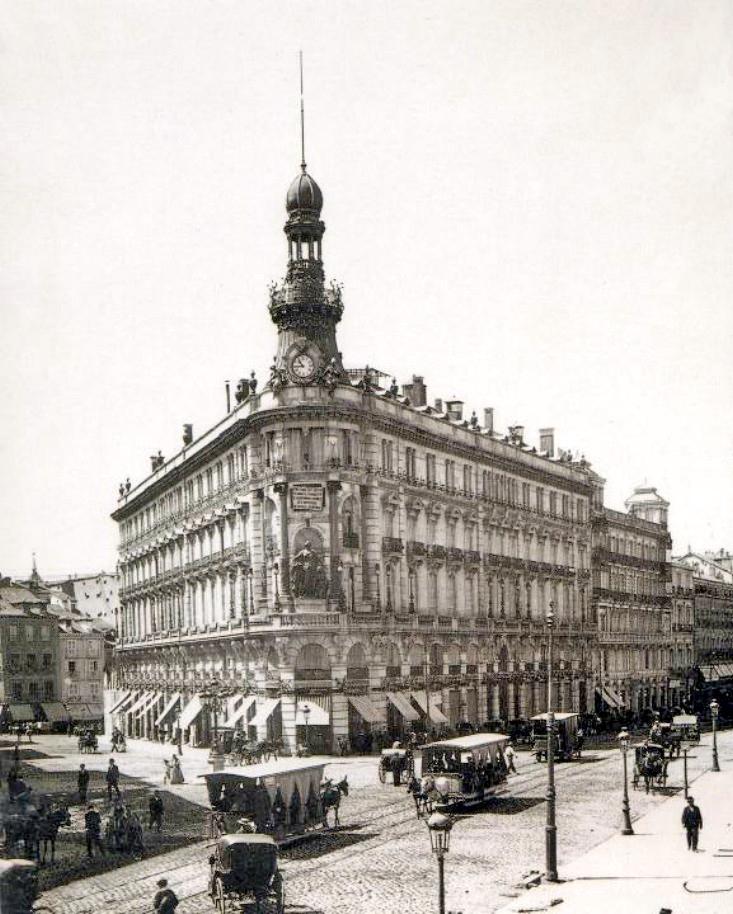 La foto de la semana: Edificio de la Equitativa. Finales del Siglo XIX