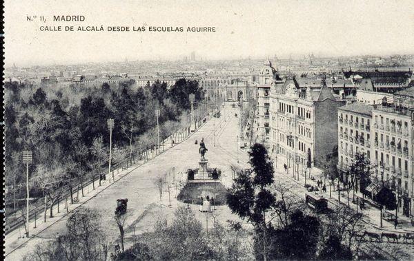 Calle Alcalá, 1910. Madrid
