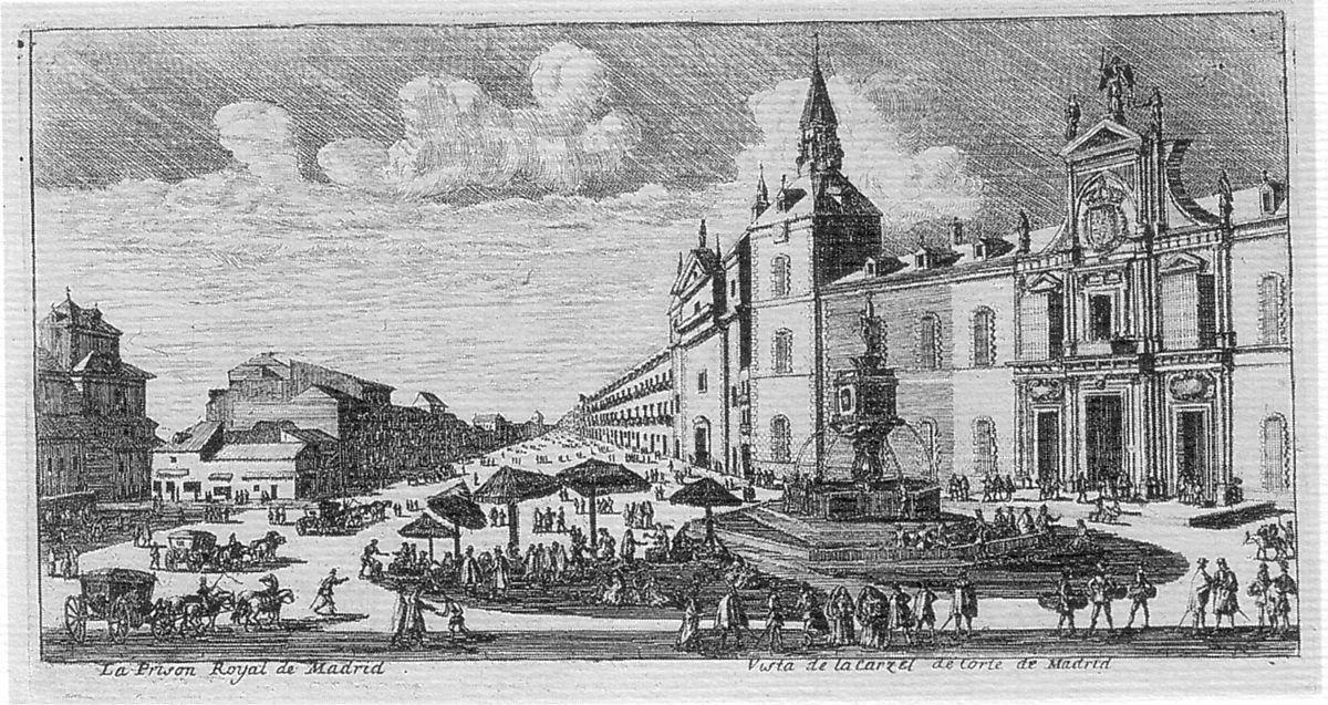 Grabado Madrid, Siglo XVII