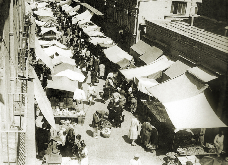 Mercado de Santa Isabel, 1929, Madrid