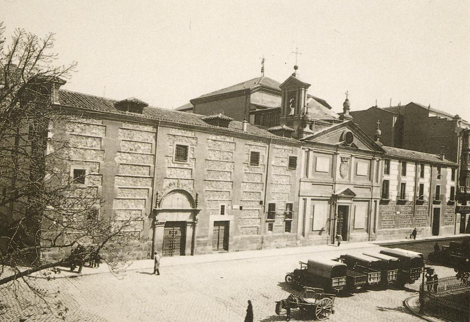 Plaza de las Descalzas Reales, años 30. Madrid