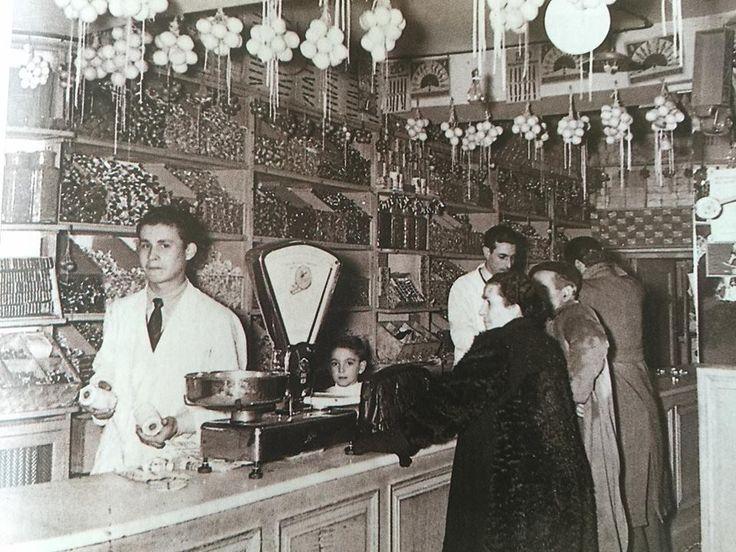 Caramelos Paco. Comercios Históricos de Madrid.