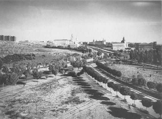 Ciudad Universitaria en 1961