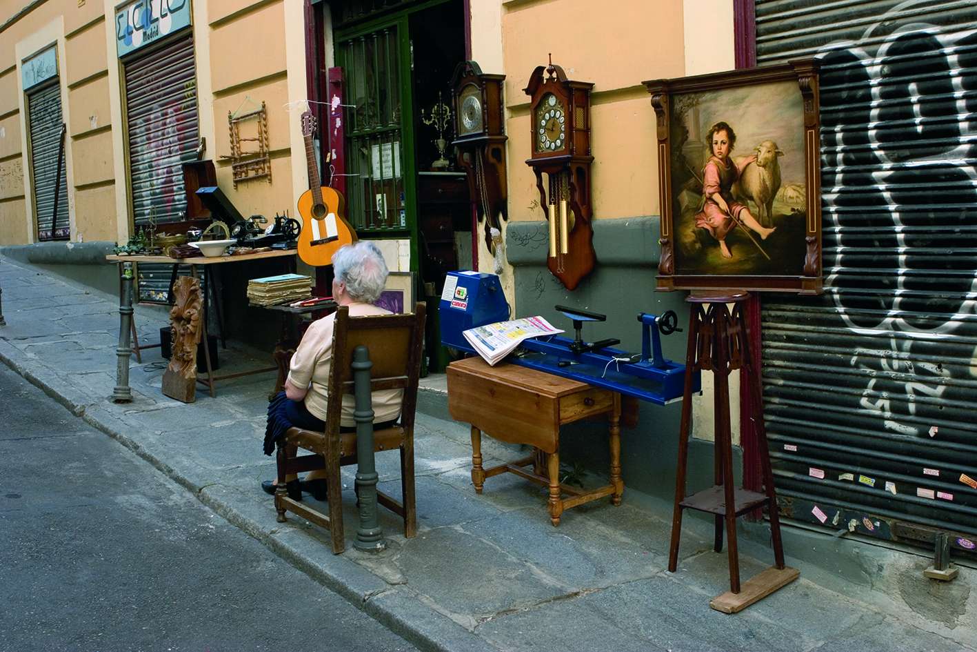 La foto de la semana: Vida en las calles de Madrid