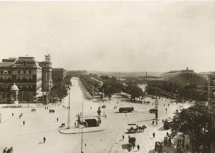 Puerta de Atocha. Finales años 20
