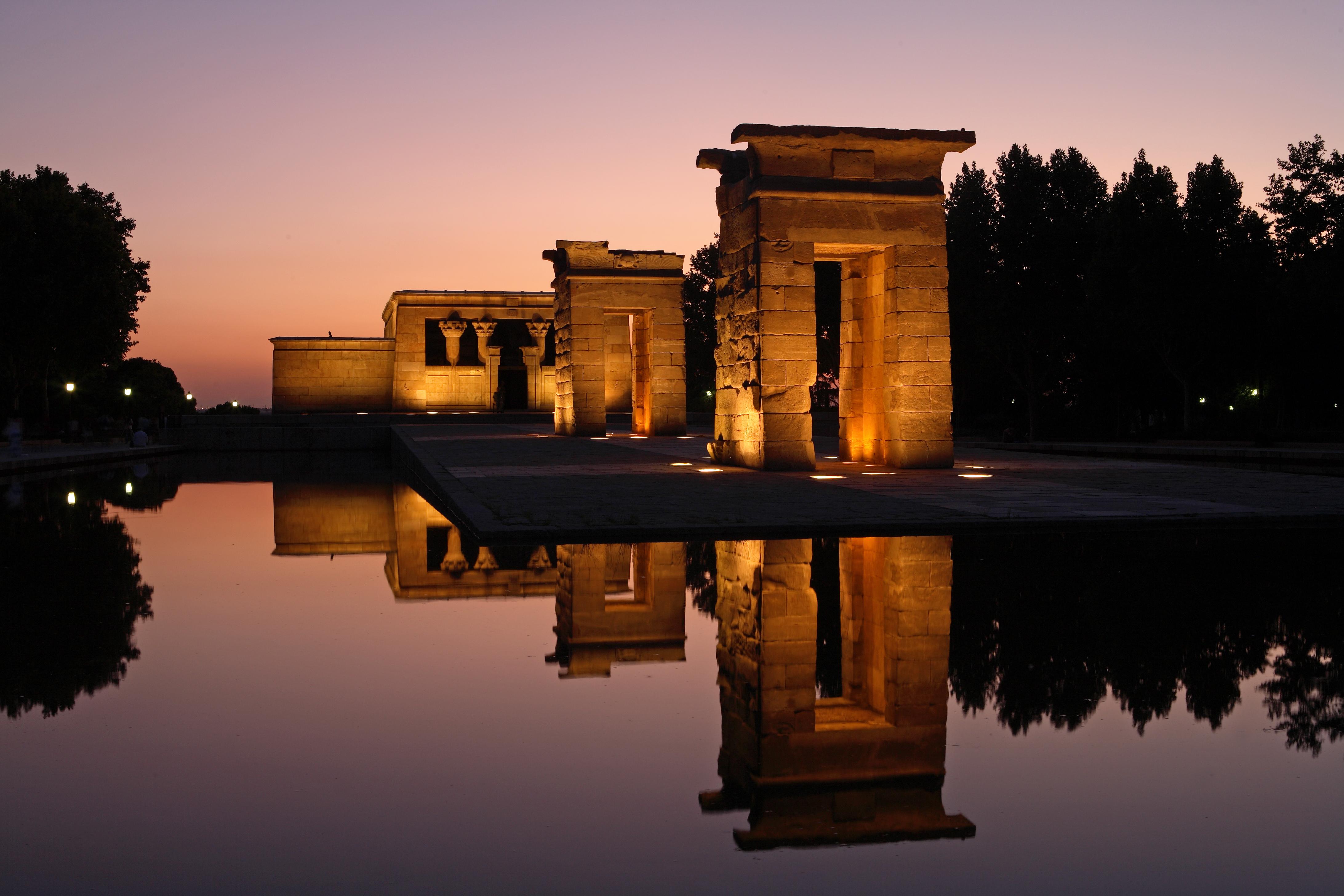 La foto de la semana: El Templo de Debod