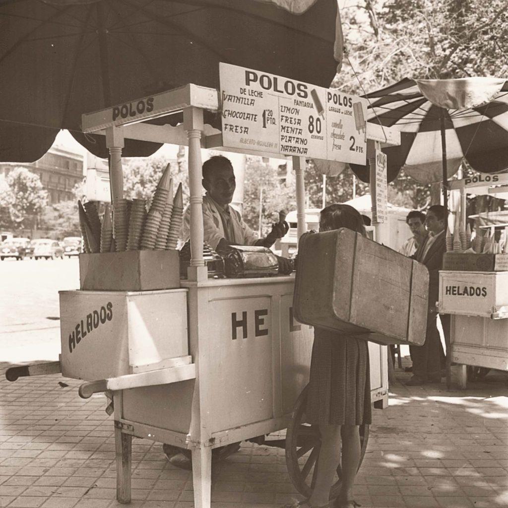 Carrito de Helados, 1959. Madrid