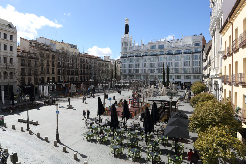 plaza de santa ana, Madrid