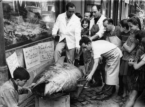 Las primeras pescaderías de Madrid