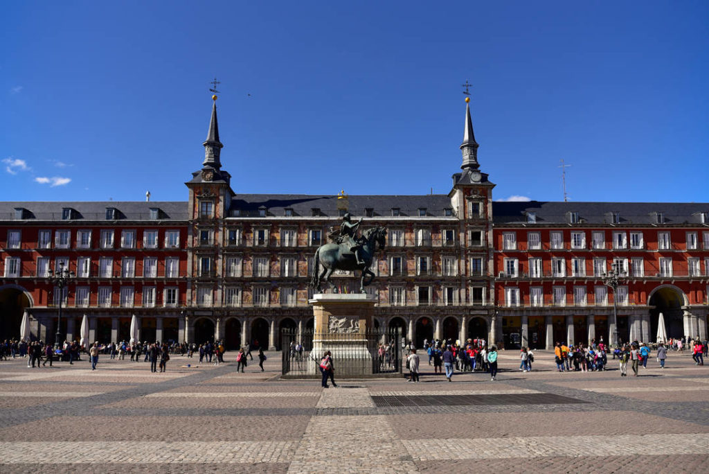 Muerte Plaza Mayor de Madrid