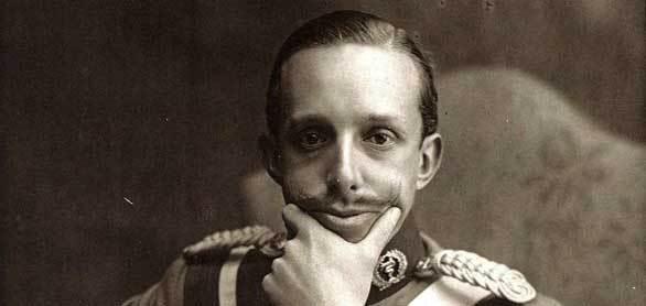 Alfonso XIII, un monarca muy guasón