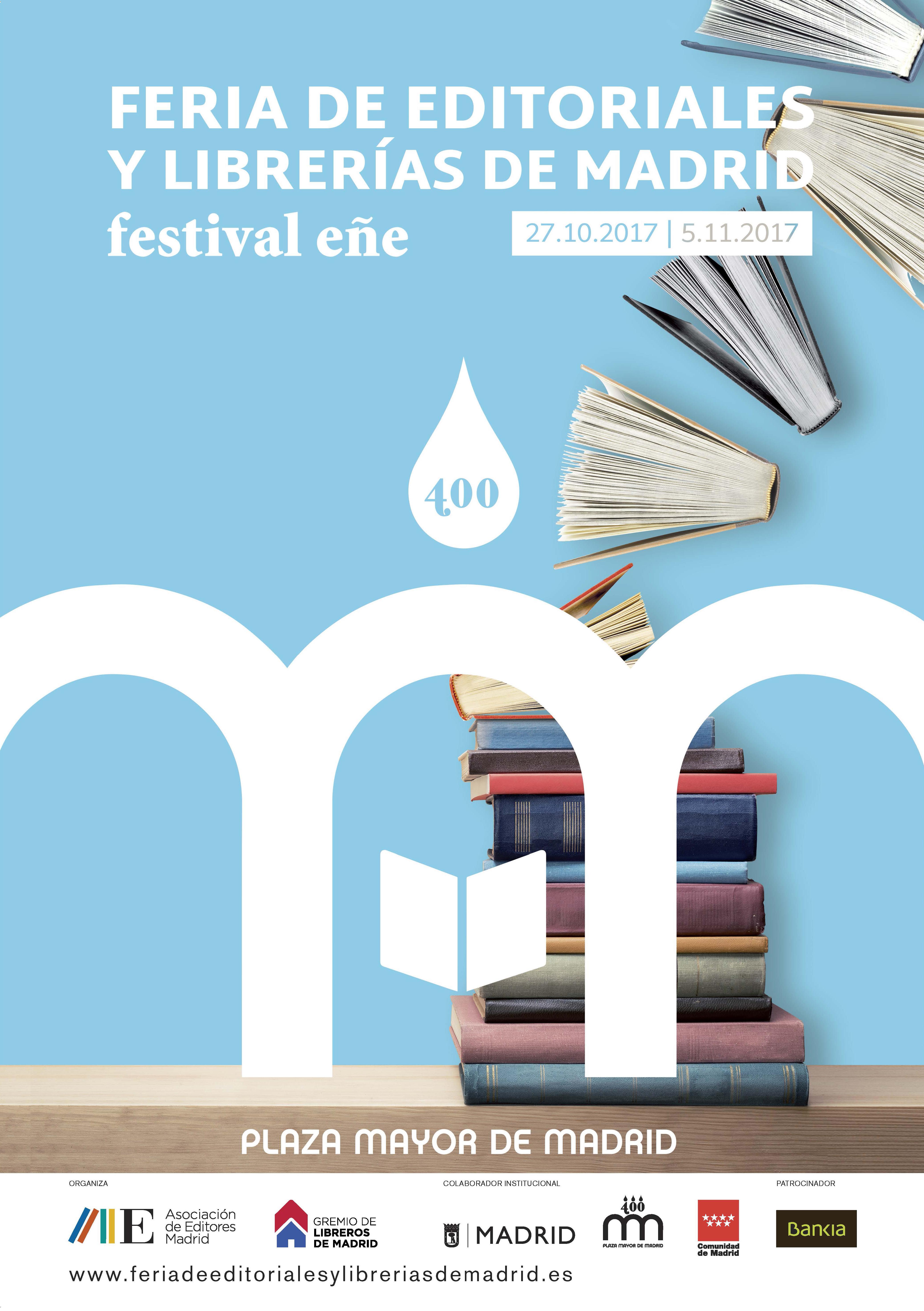 Llega la I Feria de Editoriales y Librerías de Madrid