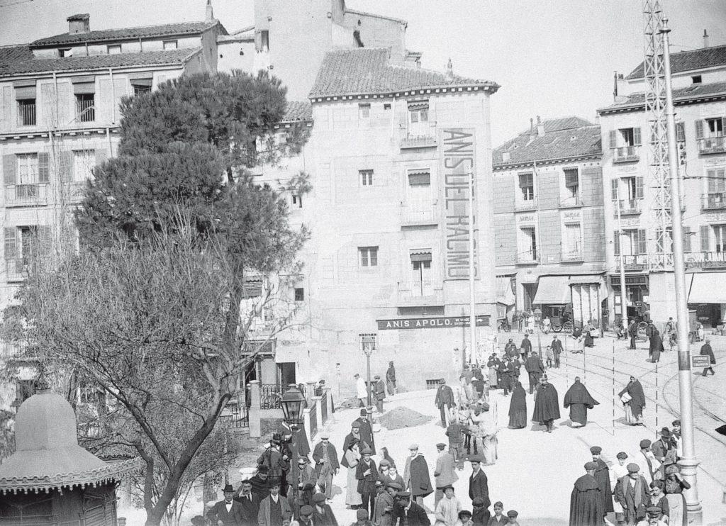 Plaza de Santo Domingo, 1913