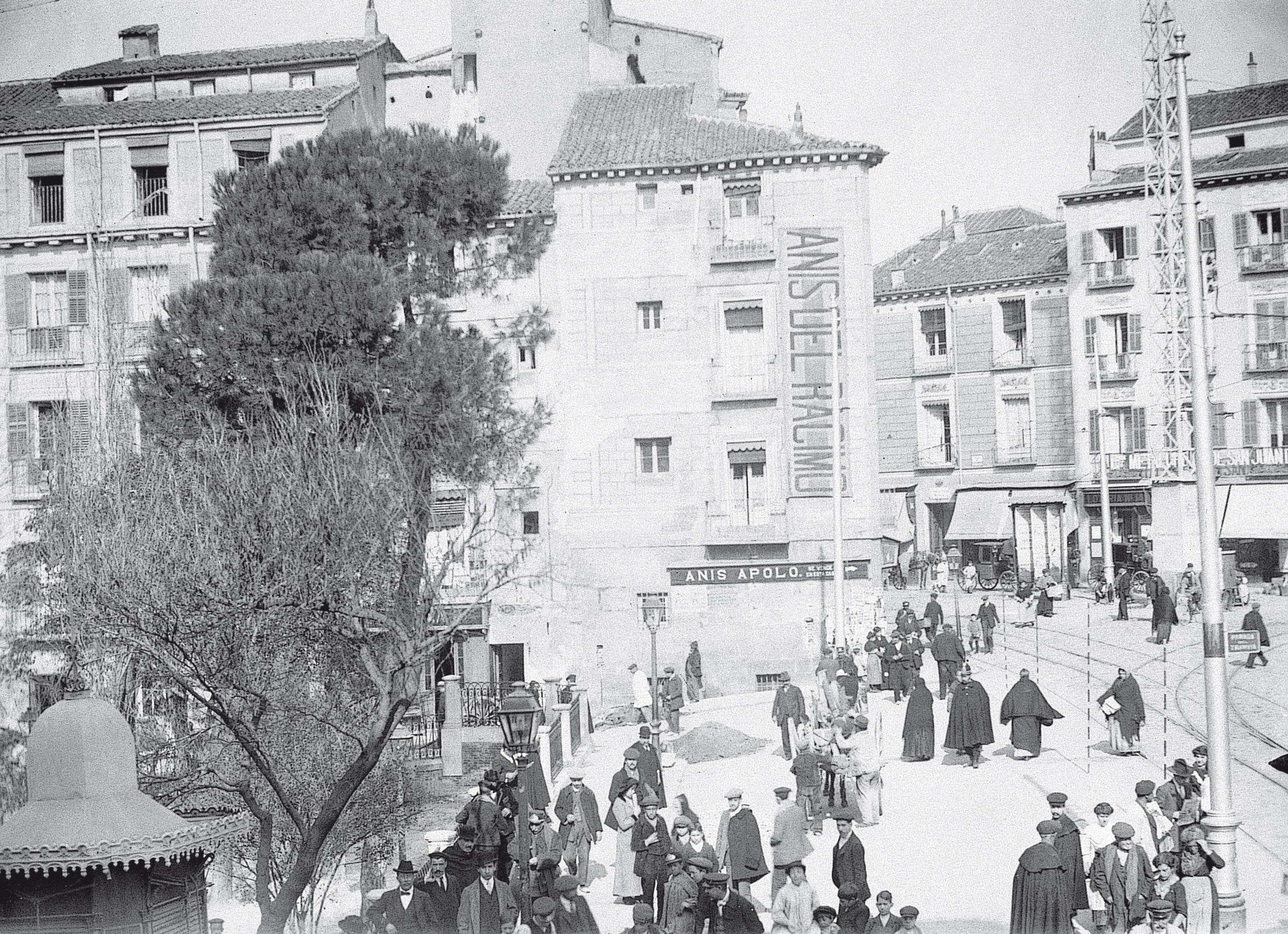 La foto de la semana: Plaza de Santo Domingo (1913)