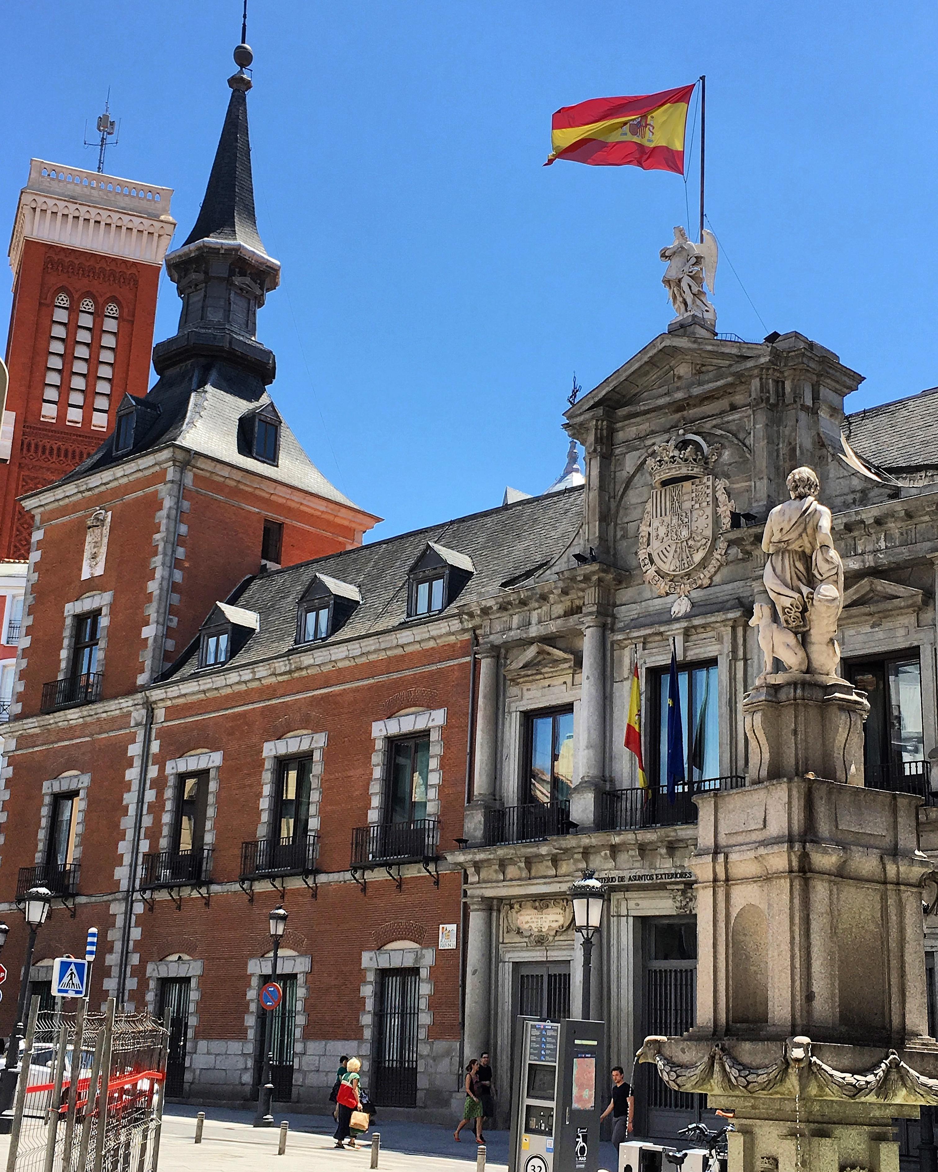 ¿Qué significaba en Madrid dormir bajo el ángel?