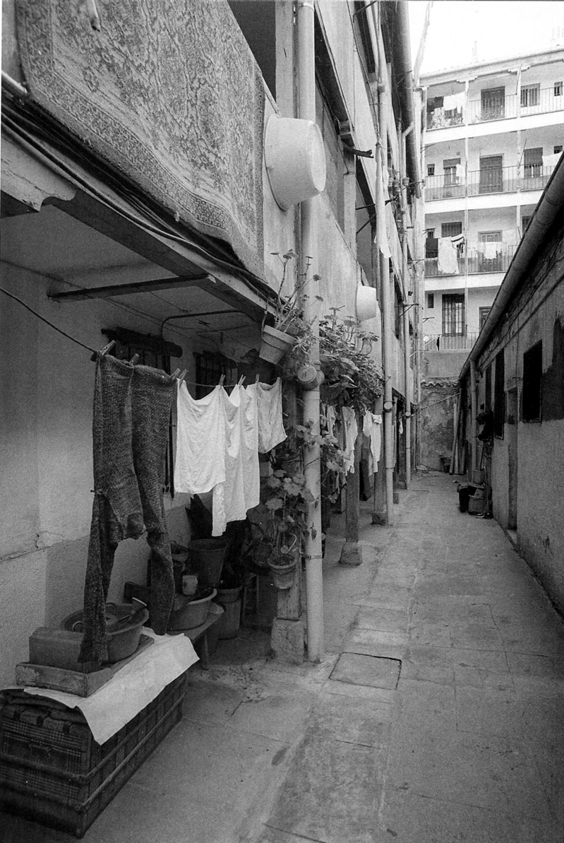 Corrala Madrid antiguo