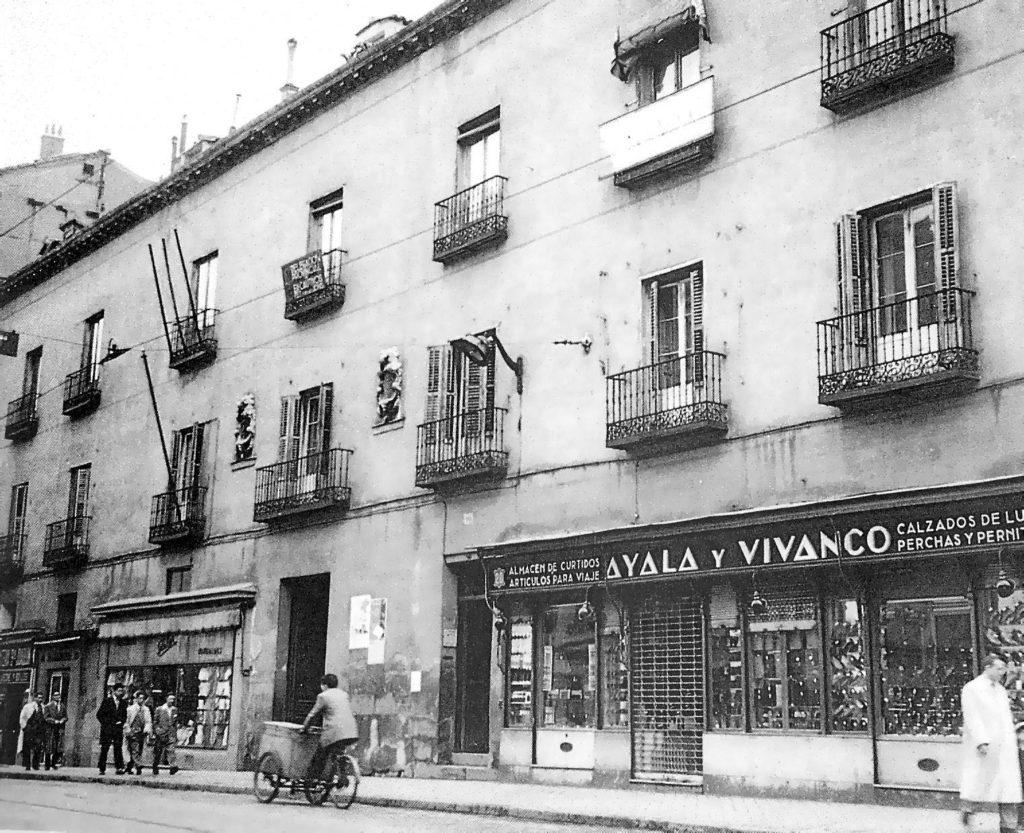 Calle San Bernardo, 1954