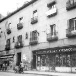 La foto de la semana: Palacio del duque de Lerma. Calle de San Bernardo. 1954.