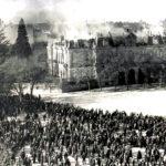 La foto de la semana: Fuego en el palacio de Medinaceli (o de Uceda). 1917