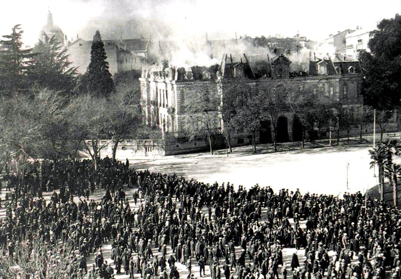 Fuego en el Palacio de Medinaceli