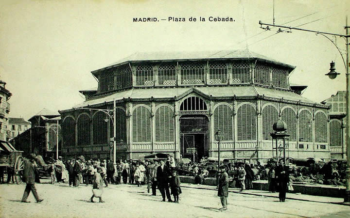 Plaza de la Cebada, Madrid