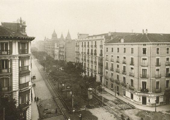 Calle Velázquez, años 30