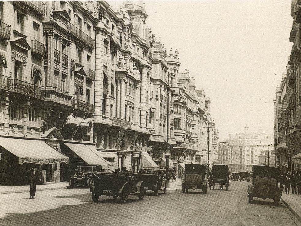 Gran Vía, 1930, Madrid