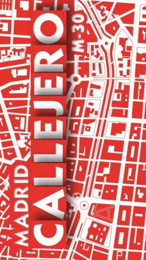 Callejero Madrid M-30 (escala 1:9500 - 10,3x19 cm)