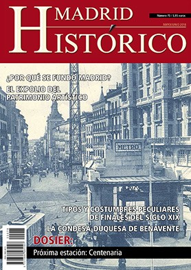 Revista Madrid Histórico (Nº 74) Papel