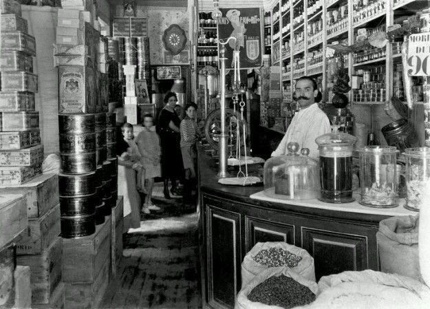 Tienda Madrid Siglo XIX