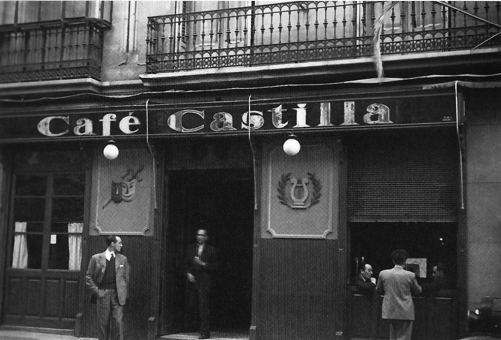 Café Castilla, 1940. Ragel.