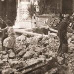 La foto de la semana: Calle Montera en obras (1948)