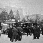 Los primeros automóviles como transporte público