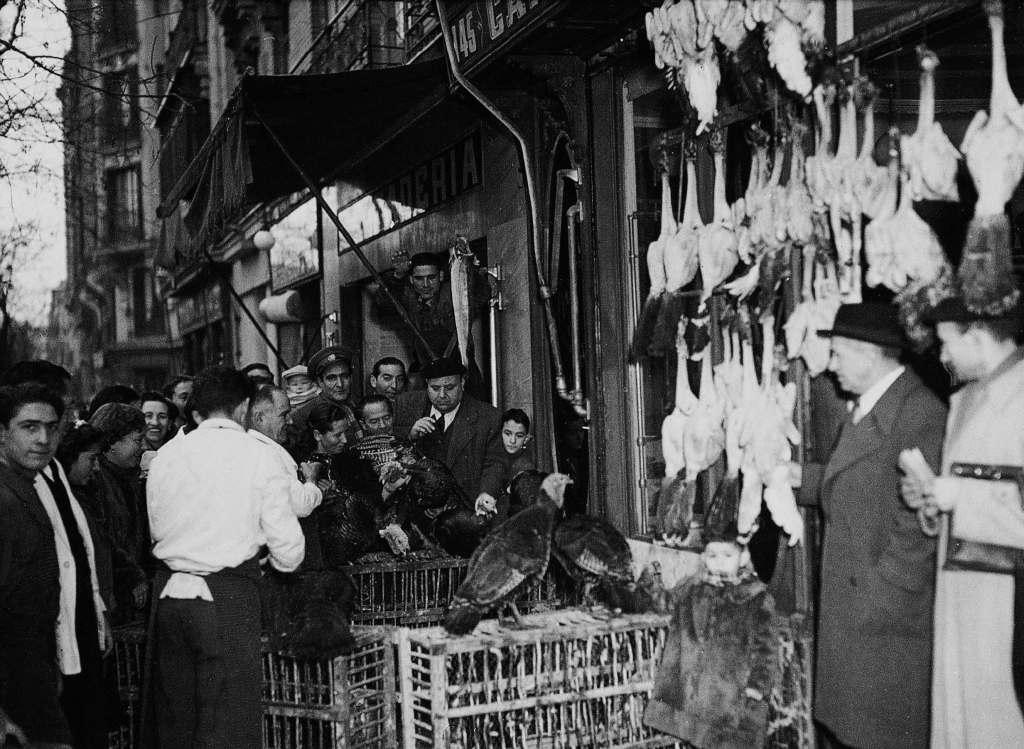 La foto de la semana: Diego de León, Navidad de 1962