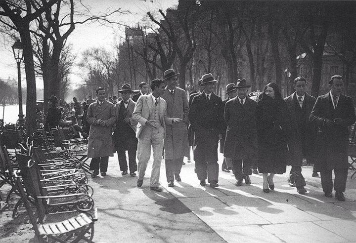 Paseo de Recoletos, años 30