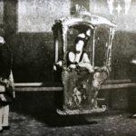 Los primeros 'taxistas' de Madrid: Los mozos de silla