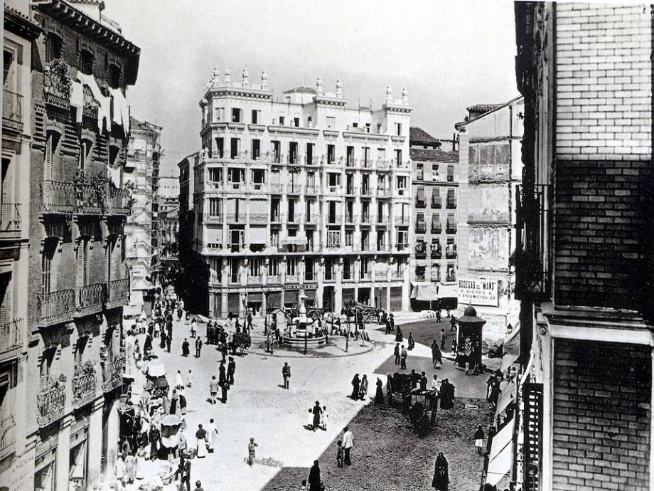 Plaza de Cascorro 1920