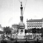 La foto de la semana: Plaza de Colón. Finales siglo XIX