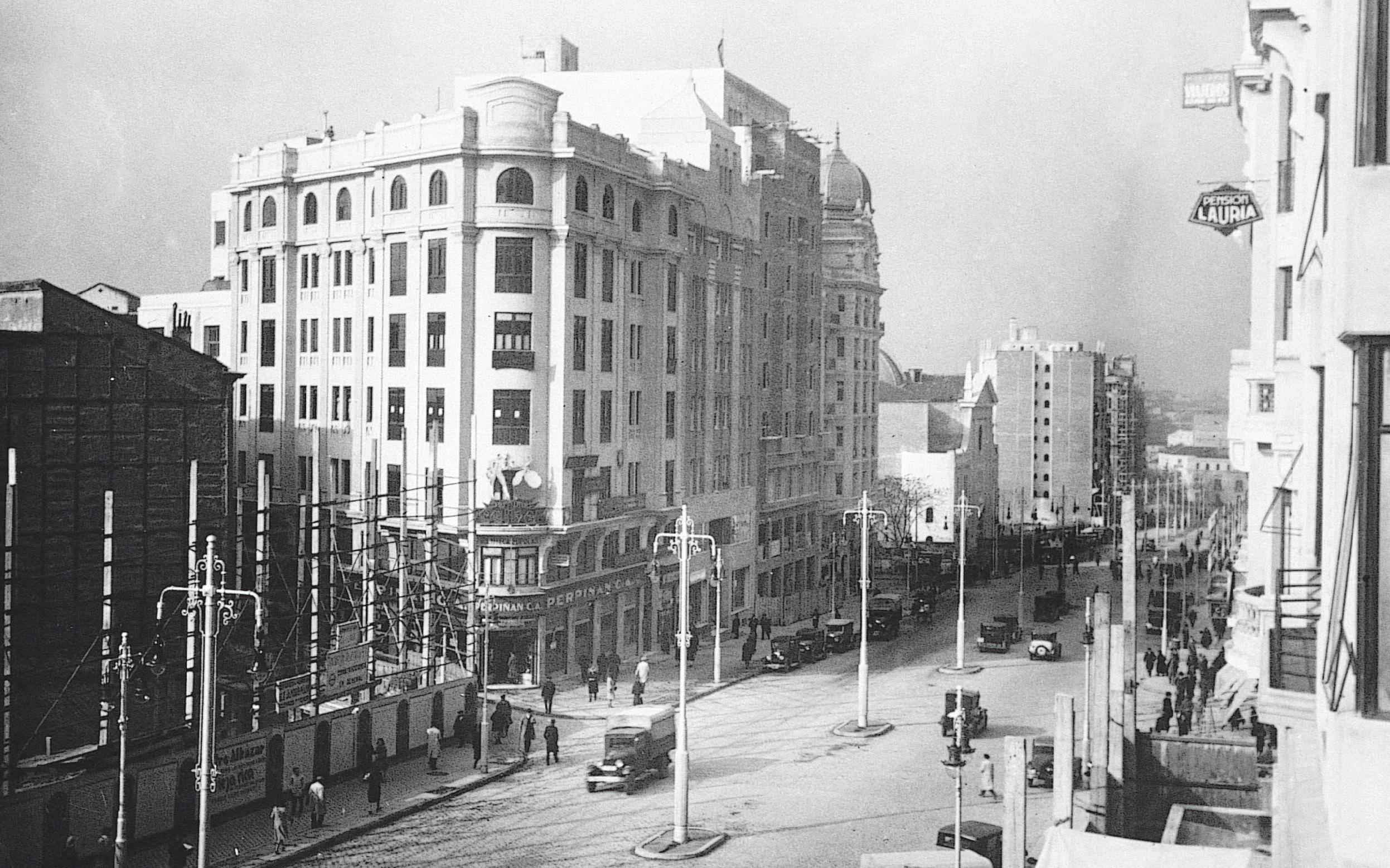 La foto de la semana: Eduardo Dato (Gran Vía) en 1931