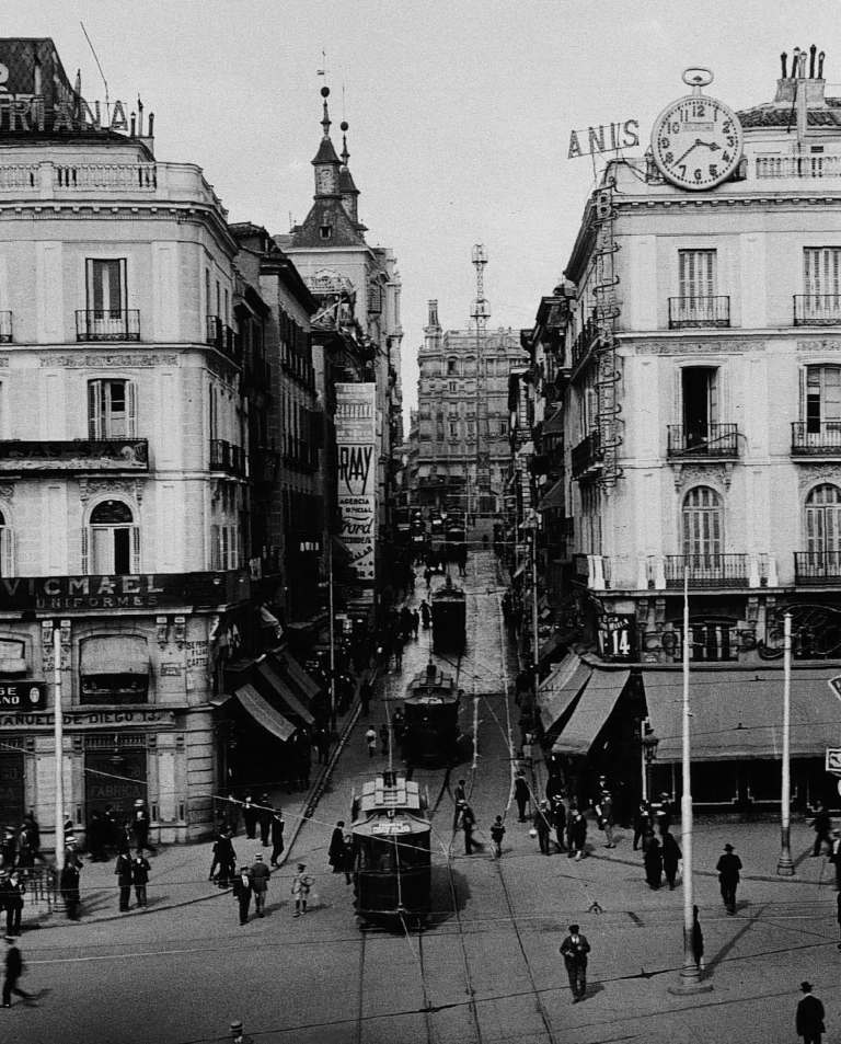 La foto de la semana: Calle Montera en 1930