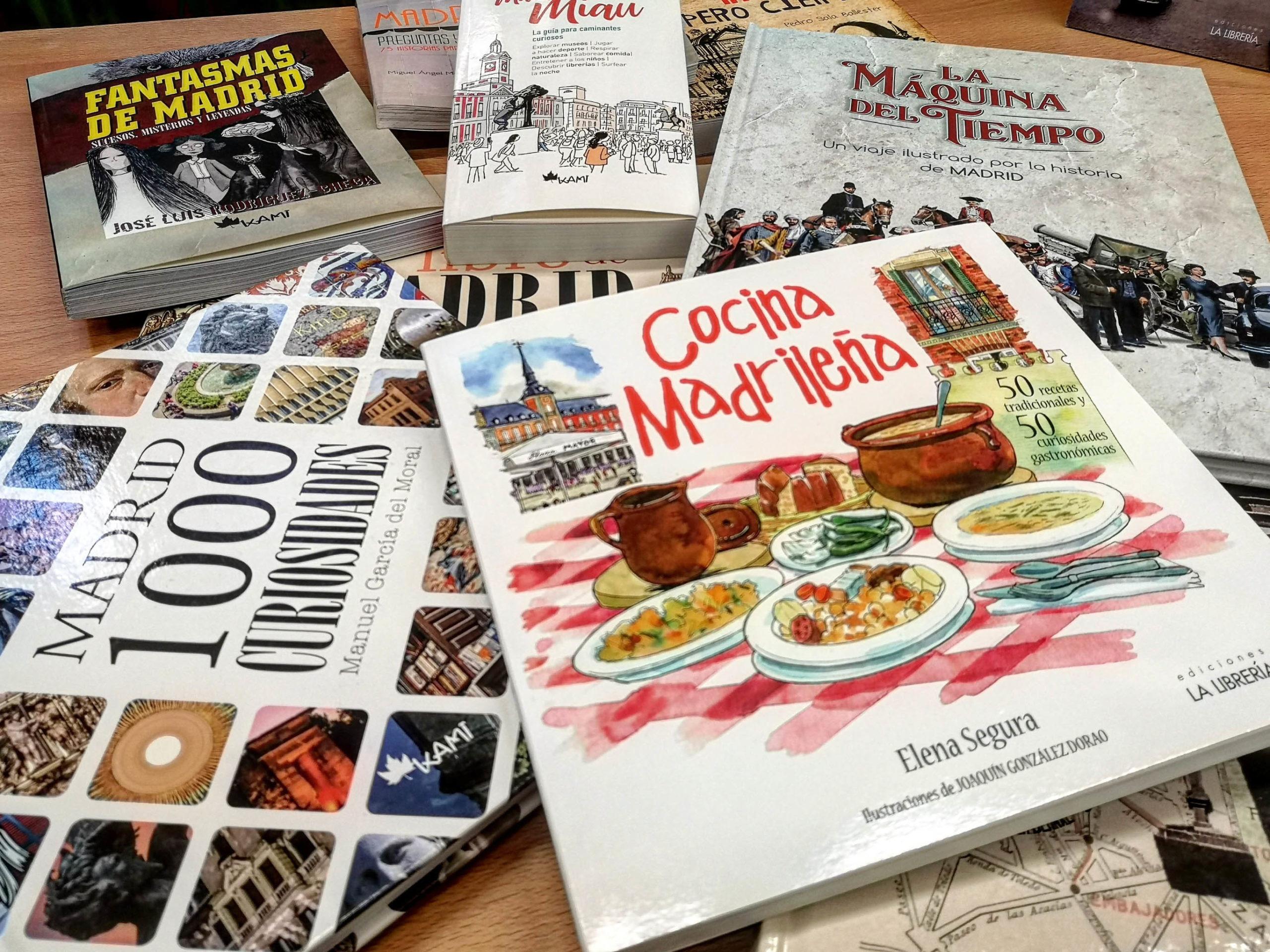 Los mejores libros de Madrid para regalar estas Navidades